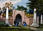 Currier and Ives Vintage Repro Giclee Print/Poster#5 Washington's Tomb Mt Vernon