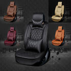 NEW Luxury Full Surround PU Leather Winter Car Seat Covers Cushion Multi-color
