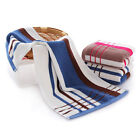 Classical Striped Microfiber Absorbent Drying Beach Bath Towel Swimwear