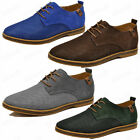 New Men's Fashion Mesh Oxfords Leather Breathable Formal Pointed Lace Up Shoes