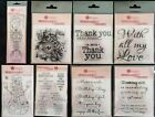 Woodware Singles Clear Stamps (Christmas,Celebrations, Sympathy)