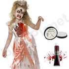 CHILDRENS KIDS GIRLS ZOMBIE SLEEPING PRINCESS FANCY DRESS COSTUME HALLOWEEN