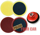"Meguiars 2 Pads 4"" Cutting Polishing 3"" M14 Backing"