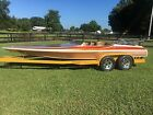 1976 sleekcraft jet boat with trailer