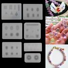 DIY Silicone Gem Beads Moulds Mold Resin Jewellery Making Pendant Shapes Craft
