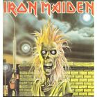 IRON MAIDEN S/t LP 9 Track Featuring Extra Track Sanctuary Light Wear To Cover A