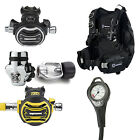 Apeks Atemregler XTX 200 YOKE + Octopus XTX 50 + Manometer + Black Ice BCD 06DE