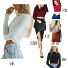 Women's Bottoming Sweater Bare Midriff Sexy Long-sleeved Elastic Slim Sweater