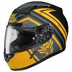 HJC CL-17 Mech Hunter Motorcycle Helmet Matte Yellow/Gray/Black