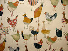 Prestigious Textiles Harriet Hens Fresh Cotton Curtain Blinds Upholstery Fabric
