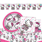 HELLO KITTY - Birthday PARTY RANGE (Tableware, Balloons & Decorations) Gemma (S)