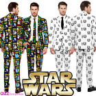 OPPOSUIT ADULT MENS STAR WARS SUITS OPPOSUITS STORMTROOPER THE FORCE FANCY DRESS