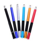 2 in1 Capacitive Pen Touch Screen Drawing Pen Stylus For iPhone iPad Tablet PC