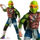 Boys Michelangelo Deluxe Teenage Mutant Ninja Turtles Movie Fancy Dress Costume