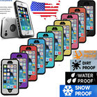 Waterproof Shockproof Fingerprint Touch ID Case Cover for IPhone 5 5S 6 6S Plus