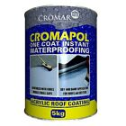 Cromapol Acrylic Waterproofing Roof Coating | Roof Paint | Roof Sealant 5kg Tins