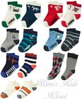Gymboree Boys 2Pk Socks-Various Styles & Colors 12-24, 2T-3T, 4T-5T, M(7-8)