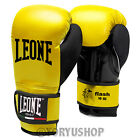 GUANTONI LEONE FLASH 10 OZ GIALLO GLOVES MUAY THAI BOXE KICK BOXING