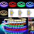 5M 3528/5050/5630 SMD 300-1200LEDs RGB Cool/Warm White Waterproof Strip Light US