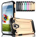 Shock Proof Silicone Rugged Hybrid Slim Armor Case Cover For Samsung Galaxy S4