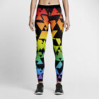 New Nike Pro BETRUE Women Tights Pants Multi Color 842570-010