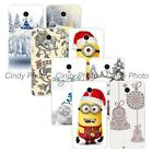 For Meizu MX6 New Year Christmas Hard Plastic Cover Case Bowknot Bells Reindeer