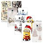 """For ZTE Blade X9 5.5"""" New Year Christmas Hard Plastic Cover Case Bells Reindeer"""