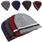 Fashion Unisex Casual Plain Beanie Knit Ski Cap Two-sided Hat warm winter EN24H