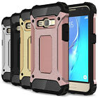 For Samsung Galaxy J1 2016 / Amp 2 Case Hard & TPU Hybrid Shockproof Phone Cover