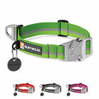 Ruffwear Top Rope Reflective Durable Dog Collar with Metal Side-Release Buckle