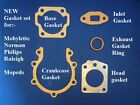 RALEIGH RM4,RM6,RUNABOUT,RM7 WISP,RM8,RM9,RM11,RM12 MOPED GASKET SET KIT