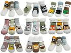 Baby Boys Girl Unisex Winter Thick Cotton Socks Monkey Panda Bear 3-Pack 3-36M