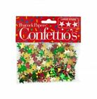 LOTS OF 12/ 24/ 48/ 72 CHRISTMAS STARS HOLIDAY CONFETTI PARTY SPARKLING BIRTHDAY