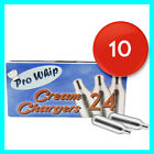 PRO WHIP 8g NOS N2O NOZ Canisters Whipped Cream Chargers & Dispensers UK Seller