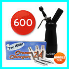 8g Pro Whip Whipped Cream Chargers - Whippers Dispensers Cannisters N2O NOS NOZ <br/> NITROUS OXIDE ✓ UK SELLER✓ FREE GIFT ✓ 24 HOUR DELIVERY