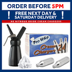 8g Pro Whip Whipped Cream Chargers - Whippers Dispensers Cannisters N2O NOS NOZ