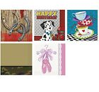 Children Party Themes - 16 Beverage NAPKINS (Boy/Girl Birthday Party RANGE)