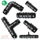 Hose Joiner/Connector/Mender/Tail - Double Barbed Acetal Plastic Fittings - Tube