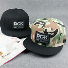 New Korean DGK Cotton Hip Hop Snapback Adjustable Bboy Baseball Cap Unisex