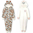 Secret Life of Pets Childrens Hooded Onesie Girls Official Sleepsuit Pyjamas
