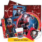 ANT MAN Birthday Party Range - Tableware Balloons & Decorations Marvel