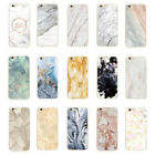 Shockproof Marble Soft TPU Silicone Back Case Cover For iphone 5S 6 6S 7 7 Plus