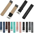 Genuine Leather Replacement Strap Wrist Watch Band For Fitbit Charge 2 Tracker