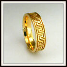 18 KT SOLID YELLOW GOLD CUSTOM MADE WEDDING BAND FOR MEN AND LADIES DE 0014