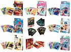 Disney Official CARD GAMES - Happy Families Snap Pairs Old Maid Action Games