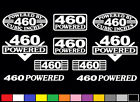 10 DECAL SET 460 CI V8 POWERED ENGINE STICKERS EMBLEMS 7.5 L VINYL DECALS