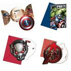 6 x PARTY INVITATIONS Licensed MARVEL Characters (Birthday/Kids/Super Hero)