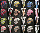 Fashion Classic Mens JACQUARD WOVEN Silk Tie Necktie Wedding Party best man gift $4.4 CAD on eBay