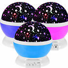 Beautiful LED Starry Night Sky Projector Lamp Kids Star light Cosmos Master toys