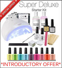 Super Deluxe CCO Professional Starter Kit UV Gel Nail Polish Set with 36w Lamp